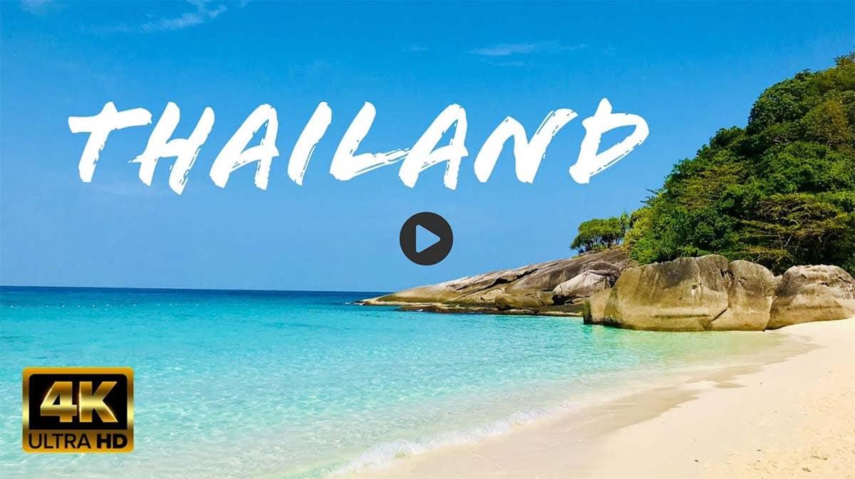 4K Thailand - Khao Lak & Similan Islands (2020)