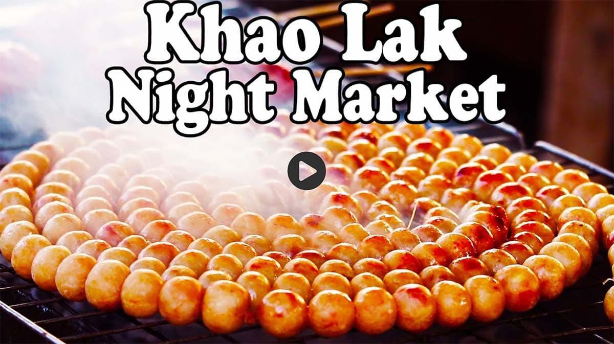 Khao Lak Night Market